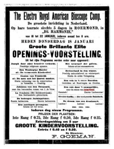 Illustration: Advertisement from De Nieuwe Koerier