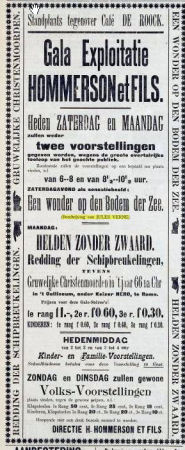 Illustration: Advertisement from the Zalt-Bommelsche Courant