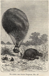 Illustration: dead elephant