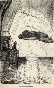 Illustration: sunrise