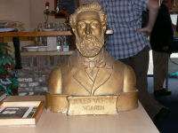 Photo: Bust of Jules Verne