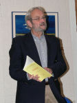 Photo: Frits Roest with the bibliography
