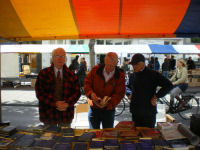Photo: Bookmarket in Amsterdam