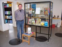 Photo: Exhibition in the library of Voorschoten